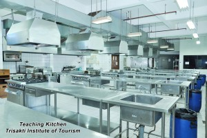 Sarana Pendidikan - Teaching Kitchen STP Trisakti