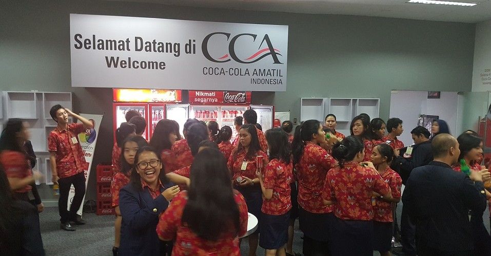 Kunjungan ke Coca Cola Amatil Indonesia