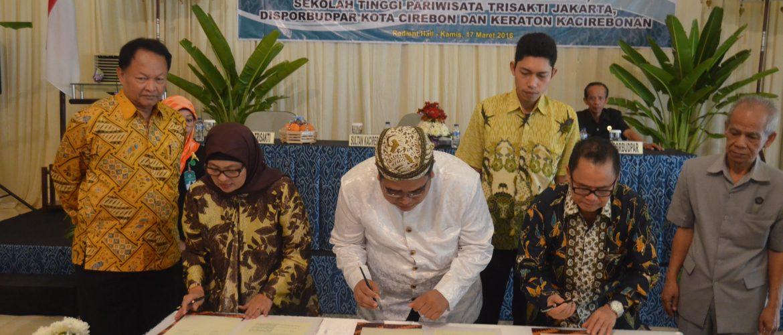 MoU with Kuningan District Goverment | STP Trisakti