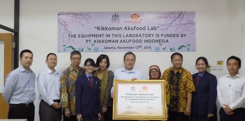MoA with PT. AKU Food Kikkoman Indonesia