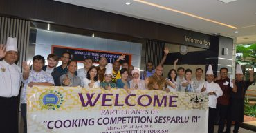 Cooking Competition Sesparlu International 2016 STP Trisakti