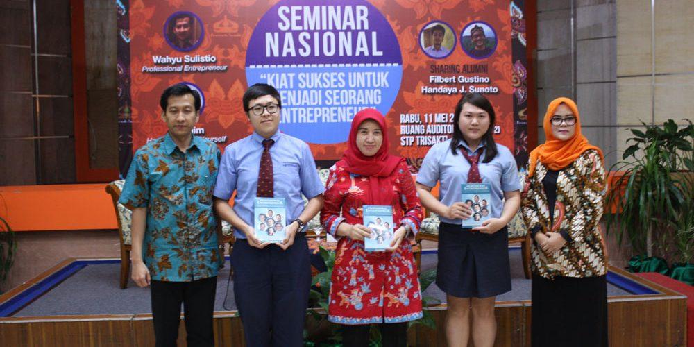Seminar Nasional Entrepreneur STP Trisakti 2016