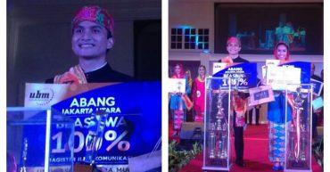 Buggy Widodo, Mahasiswa STP Trisakti terpilih sebagai Abang pada ajang None Jakarta Utara
