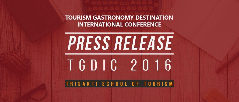 Press Release TGDIC 2016