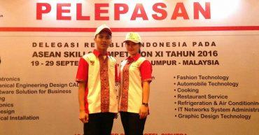 Pelepasan Delegasi Indonesia ASC