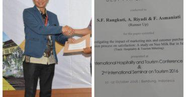 runner up for best paper award