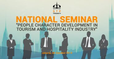 "National Seminar ""People Character Development Tourism and Hospitality Industry"""