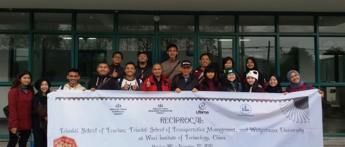 Reciprocal Wuxi Institute of Technology China