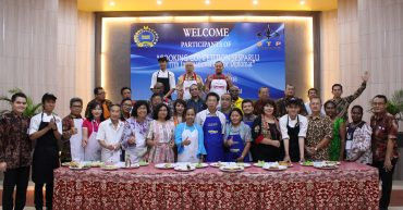 Cooking Competition Sesparlu 17th International Senior Diplomat 2