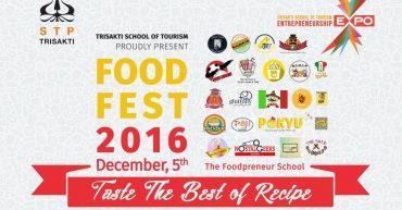 Food Fest 2016 Mata Kuliah Kewirausahaan