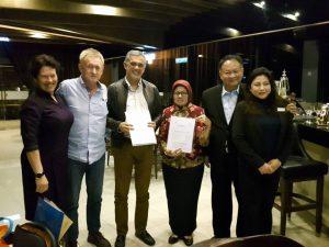 Kunjungan & MoU Signing di Malaysia & Thailand STPT 1