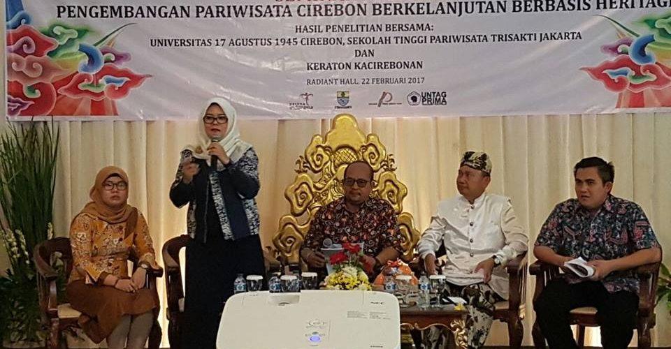 STPT Seminar Nasional Pengembangan Pariwisata Cirebon