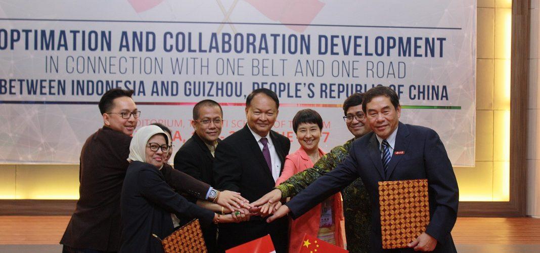 Kunjungan dan Penandatangan MoU dengan 12 Universitas dari Guizhou Province, China