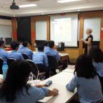 Guest Lecturer Ms. Yvonne Klerks 2