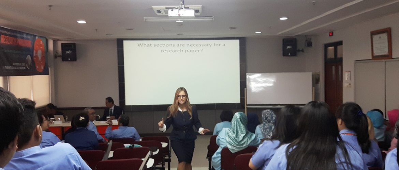 Visiting Professor Carrie-Ann Bruehlmann 1