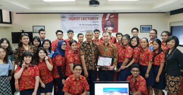 Guest Lecture From Guilin Tourism University, China – Mr. Pan Junyang (Jabbar)