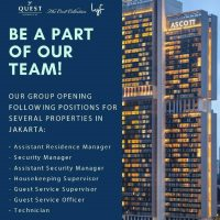 Guest Service Officer - Ascott Group Indonesia