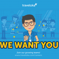Traveloka's Vacancies at Trisakti