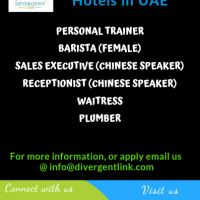 Looking for various position in UAE