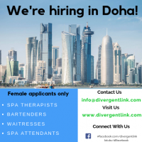 We're Hiring for a 5*hotel in Doha